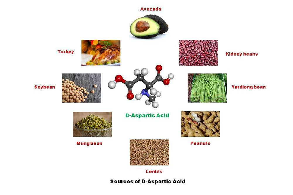 D-Aspartic Acid Sources